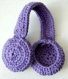 Crochet earwarmer a