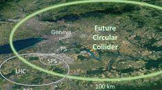 Un nuevo acelerador de partículas, más potente, previsto para 2040, pretende descubrir las fuerzas físicas ocultas en el espacio.