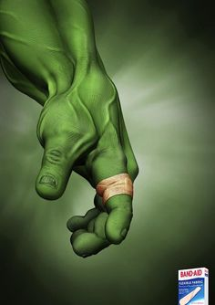 Even the Hulk needs a Band-Aid