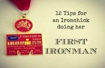 Tips for Ironchicks doing their first Ironman triathlon #ironman #triathlon