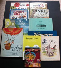 Job Lot Vintage illustrated children's books Collectable some 1st editions