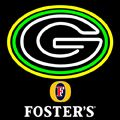 Fosters Green Bay Packers NFL Neon Sign 1 0011 16x16, Fosters Neon Beer Signs & Lights | Neon Beer Signs & Lights. Makes a great gift. High impact, eye catching, real glass tube neon sign. In stock. Ships in 5 days or less. Brand New Indoor Neon Sign. Neon Tube thickness is 9MM. All Neon Signs have 1 year warranty and 0% breakage guarantee.