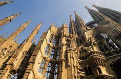 Search - Getty Images : barcelona, No People, f La Sagrada Familia Barcelona Travel, Barcelona Spain, Gaudi, Cabina Exterior, Mystery Hotel, European Tour, World's Most Beautiful, World Heritage Sites, Art And Architecture