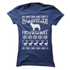 ALL I WANT FOR XMAS IS MY HOVAWART T SHIRTS - #gifts for guys #gift bags. BEST BUY  => https://www.sunfrog.com/Christmas/ALL-I-WANT-FOR-XMAS-IS-MY-HOVAWART-T-SHIRTS-Ladies.html?id=60505
