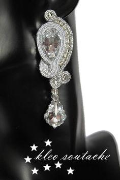 Sutasz Kleo /Soutache jewellery: CRYSTAL