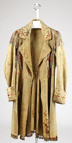 Coat, American, early 19th C