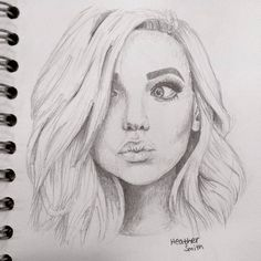 Emily and lincoln's youngest child, harper beautiful drawings, cute drawings, pencil drawings, Girl Drawing Sketches, Portrait Sketches, Cool Art Drawings, Pencil Art Drawings, Realistic Drawings, Beautiful Drawings, Pencil Portrait, Drawing Drawing, Drawing Ideas