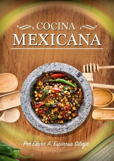 """Find magazines, catalogs and publications about """"cocina mexicana"""", and discover more great content on issuu. Cooking Wild Rice, Fire Cooking, How To Cook Rice, Food To Make, Mexican Food Recipes, Ethnic Recipes, Vintage Cookbooks, Street Food, Food Videos"""
