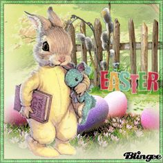 Animation, Easter Crafts, Beautiful Birds, Happy Easter, Diy And Crafts, Teddy Bear, Illustration, Cute, Animals