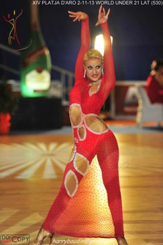 Red latin dress :)