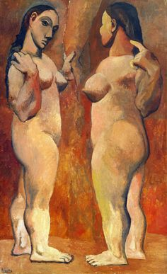 Two Nudes, Picasso