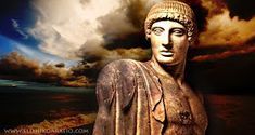 Apollo God of the Sun Greek History, Simple Minds, Ancient Mysteries, Mythological Creatures, Gods And Goddesses, Ancient Greece, Greek Mythology, Modern Art, Mona Lisa