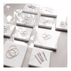 """Basic elements #geometric #geo #marble #studio #finejewelery #madeleineissing #prepairing #hamburg"""