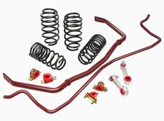 If you live for the corners, the Eibach PRO-PLUS Performance Handling Package delivers. Eibach PRO-PLUS packages include their legendary Eibach PRO-KIT lowering springs along with matching ANTI-ROLL-KIT sway bars. The Eibach PRO-KIT lowers your car Ford Mustang Gt, Mx5 Nd, 2015 Sti, R35 Gtr, Focus Rs, Ford Focus, 2013 Focus, Volkswagen Golf R, Subaru Impreza