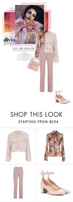 """Should I..."" by theitalianglam ❤ liked on Polyvore featuring mode, RED Valentino, Dolce&Gabbana, J.Crew, Valentino, women's clothing, women, female, woman et misses"