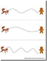 Gingerbread Baby - Prewriting