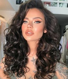 Makeup Eye Looks, Bridal Makeup Looks, Cute Makeup, Beauty Makeup, Hair Makeup, Hair Beauty, Queen Hair, Models Makeup, Girls Makeup