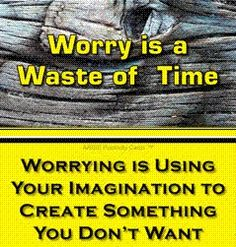 Quote~ Worrying is using your imagination to create what you don't want. Zen Quotes, Stop Worrying, Have A Great Day, Daily Inspiration, Being Used, No Worries, Imagination, Thoughts, Create