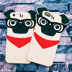 Save and share it if you want this 3D Lovely Dog with Glasses iPhone Case. Tag a friend who would love this! FREE Shipping Worldwide! Only $11.99