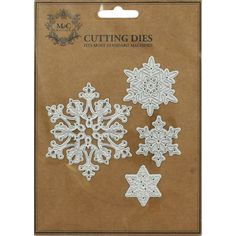 Buy Snowflake Metal Die  online from The Works. Visit now to browse our huge range of products at great prices.