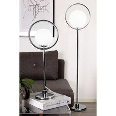 Golvlampa Saint Krom #brightbelysning #bright123 #belysning #inredning #lampor