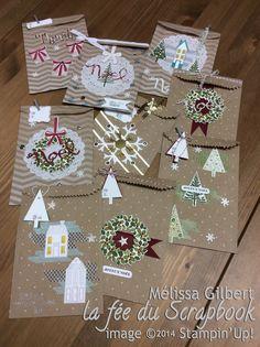 Sacs cadeaux Grains de café / Cafe Gift bag ... www.lafeeduscapbook.com