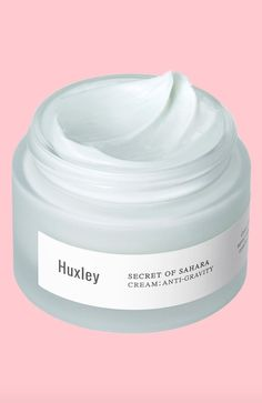 Huxley's secret is prickly pear extract, derived from a cactus found in—you guessed it—the Sahara. The antioxidant-heavy ingredient does wonders to protect skin from environmental aggressors, and it's in every product in the line (which, according to Nordstrom, has been a favorite among customers).