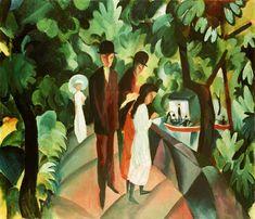 August Macke - passage