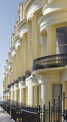 Sash window repair & restoration in Brighton, Sussex & London. Brighton Sussex, Brighton And Hove, East Sussex, Neoclassical Architecture, Architecture Details, Sash Window Repair, Villa, Sash Windows, Nature
