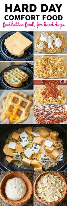 Hard Day Comfort Food - save these recipes for when you have a bad day! Everybody needs comfort food now and again. Planning Menu, Food Now, Tasty, Yummy Food, Best Comfort Food, Popular Recipes, Quick Recipes, Love Food, Instant Pot