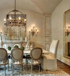 55 Lasting French Country Dining Room Furniture Decor Ideas - Home French Country Dining Room, French Country House, Country Blue, French Cottage, Country Living, French Decor, French Country Decorating, Dining Room Design, Dining Room Furniture