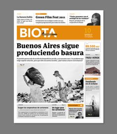 Diario Biota by Luc Geoffroy, via Behance