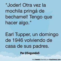 El invento de Earl Tupper. #humor #risa #graciosas #chistosas #divertidas