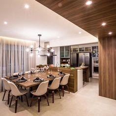 55 modern kitchen ideas decor and decorating ideas for kitchen design 2019 28 Modern Kitchen Interiors, Luxury Kitchen Design, Kitchen Room Design, Luxury Kitchens, Dining Room Design, Home Interior Design, Kitchen Decor, Kitchen Ideas, Kitchen Layouts