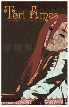 Tori Amos Concert Poster by StandUpDesign on Etsy, $20.00