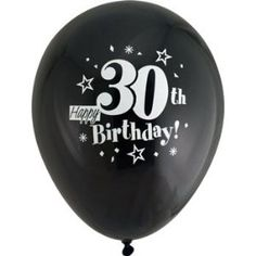 Happy 30th Birthday Balloons - Thirty Years Old Balloons.... i want