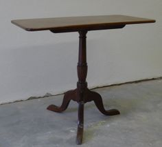English Tilt Top Table Victorian Tea Table By Territoryhardgoods, $300.00