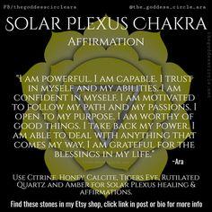 Healing Affirmations, Positive Self Affirmations, Solar Plexus Chakra Healing, Sacral Chakra, Spiritual Health, Mindfulness Meditation, Healing Meditation, Mind Body Soul, Spiritual Awakening