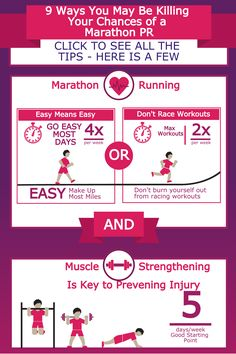 9 Ways You May Be Killing Your Chances of a Marathon PR   @runningwife
