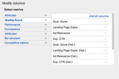 Google AdWords : accédez à l'historique du Quality Score de vos annonces - Blog du Modérateur