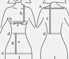 Blog Atelier Fernanda Guimaraes: Contrução de molde base para blusa e vestido