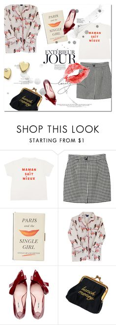 """Paris and the single girl"" by tuilindo on Polyvore featuring Monki, Kate Spade, Miu Miu, Prada and Bloomingdale's"