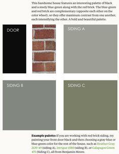 Good Exterior Colour Scheme L To R, Colourbond Paperbark ...
