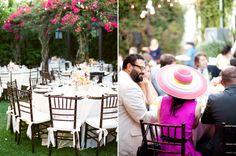 Beverly Hills backyard wedding   Real Weddings and Parties   100 Layer Cake