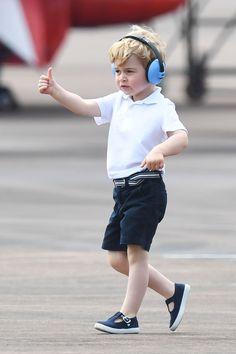 Perché il principe George indossa sempre i pantaloncini -cosmopolitan.it