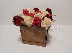 Pudełko na kwiaty eko, Box Flowers