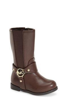 MICHAEL Michael Kors 'Emma Tessa' Riding Boot (Walker, Toddler, Little Kid & Big Kid) available at #Nordstrom