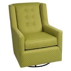 "Little Castle Charleston Swivel Glider : Target Chair Dimensions: 38.0 "" H x 29.0 "" W ; x 34.0 "" D  $404.99"
