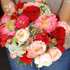 Um excuse me....can I have some garden roses to go with my peonies?  | LILLA BELLO