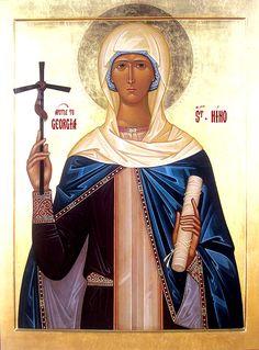 OCA - The Entrance of St Nino (Nina) the Enlightener into Georgia